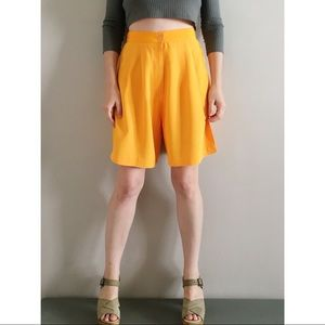 Vintage Marigold High Rise Easy Shorts